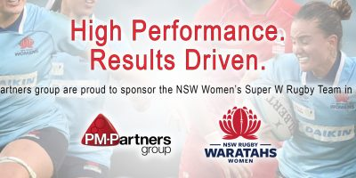 PM-Partners group Backs Super W and Partners with Waratahs