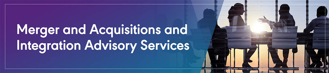 Merger and Acquisitions and Integration Advisory Services