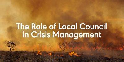 The Role of Local Council in Crisis Management