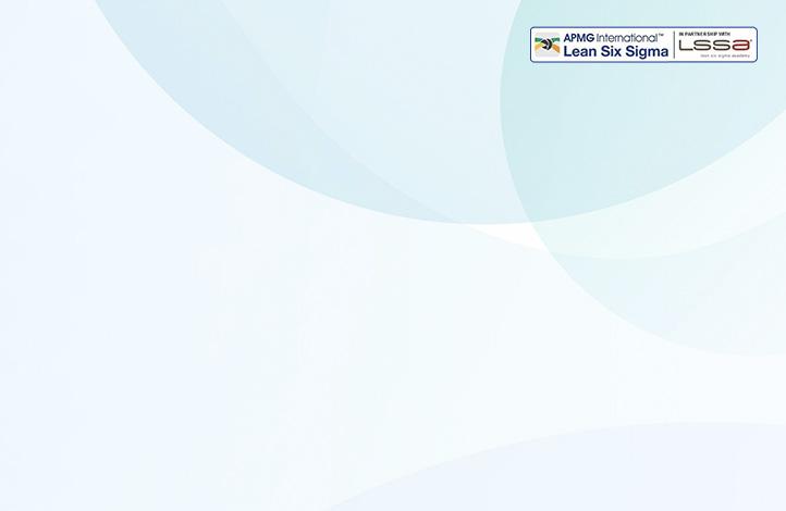 lean six sigma certification